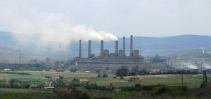 Kosovo power plant